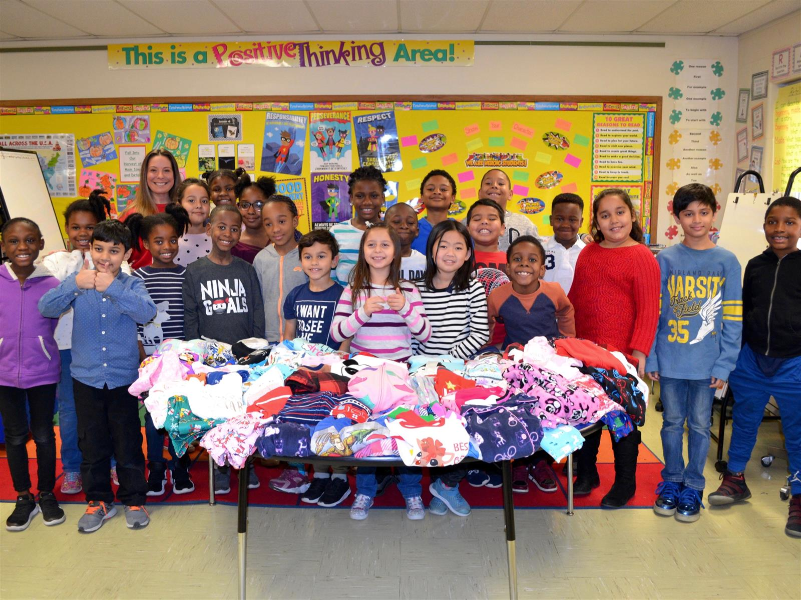 Shaw Students Spread Warmth Photo